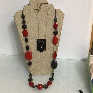 Large Beads,Diamond Necklace,& a velvety Necklace